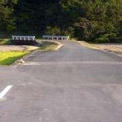 the start of 2 lanes 2車線が始まる